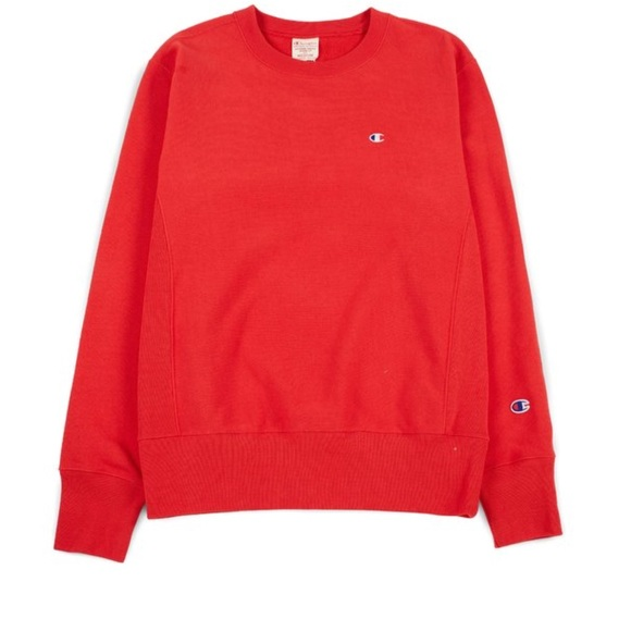 Red Champion Sweater